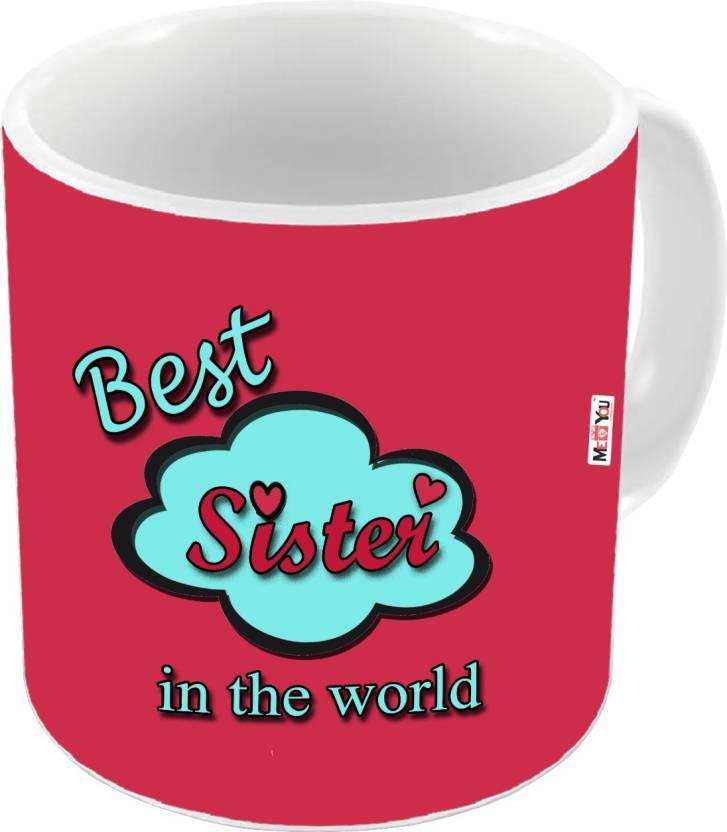 MEYOU Birthday Gifts Anniversary For Sister IZ18DTMU 333 Ceramic Mug