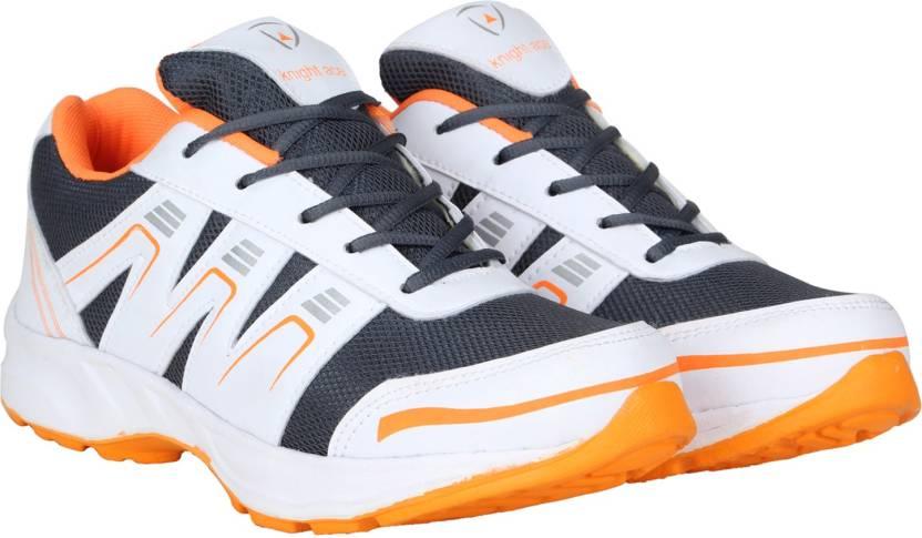 0ff800cbd Knight Ace Cross-Trainer Running Shoes For Men - Buy White, Orange ...
