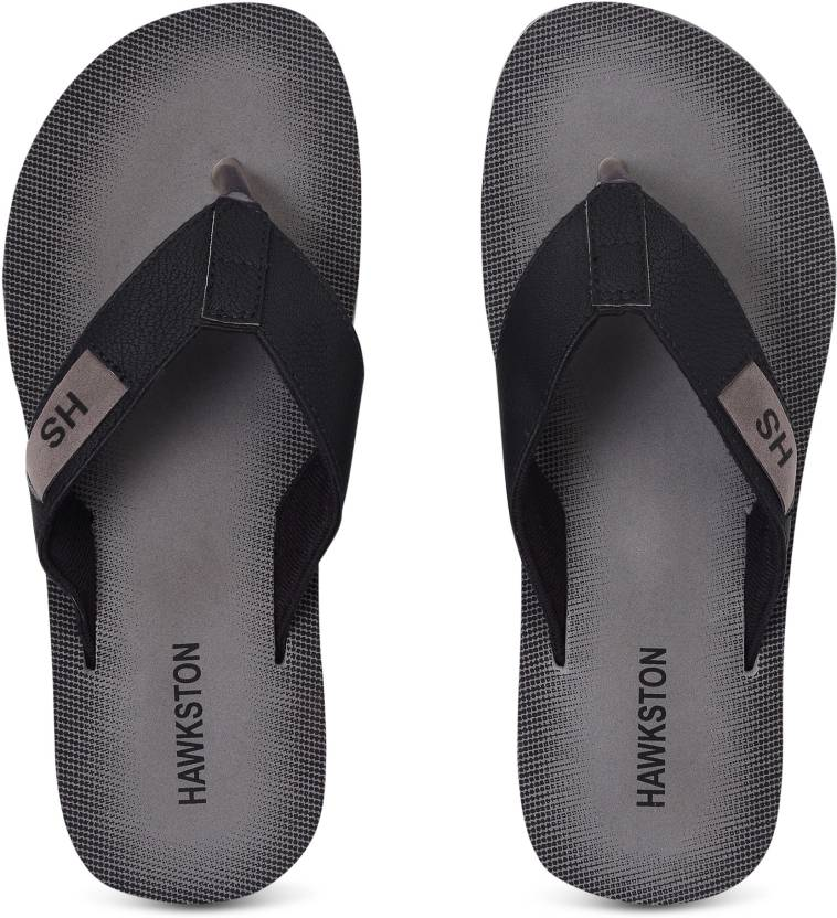 21d9a26e1 Hawkston ZARA 01 GreyBlack-10 Flip Flops - Buy Hawkston  ZARA 01 GreyBlack-10 Flip Flops Online at Best Price - Shop Online for  Footwears in India ...