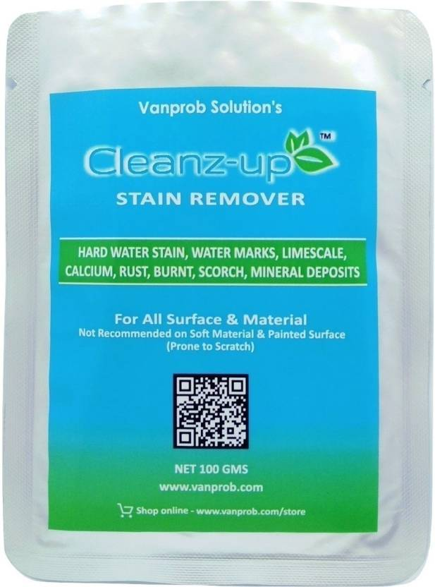 Cleanz-up Hard Water Marks Limescale Stain Remover -100 gms (1 ...