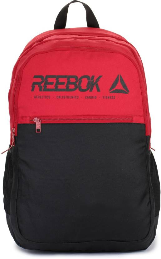 REEBOK MOTION J 23 L Laptop Backpack Red   Black - Price in India ...