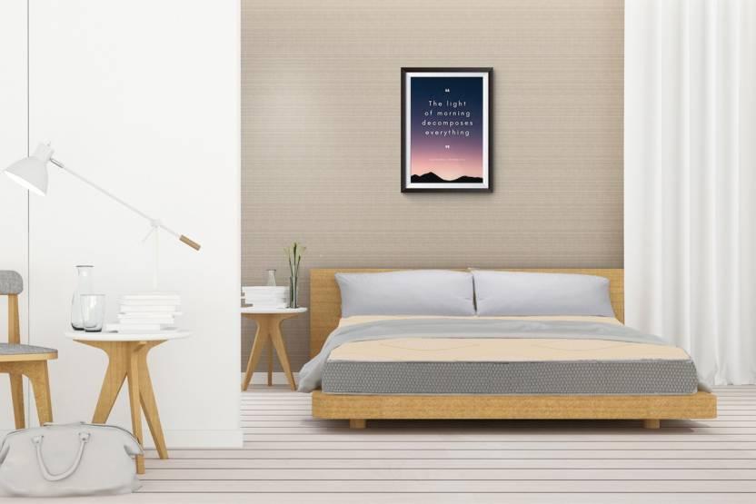 Sleep Spa Orthopaedic Dual Comfort Mattress Hard Soft 6 Inch King