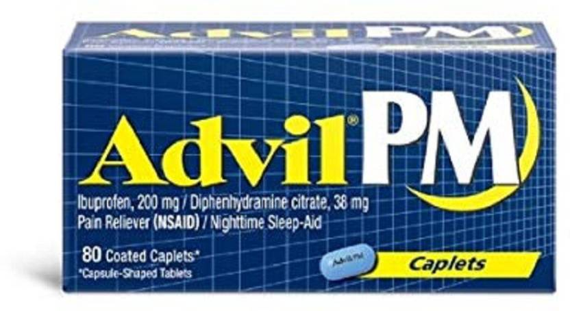 Advil PM Caplets-80ct Capsules - Buy Baby Care Products in