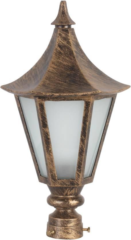 Learc Designer Lighting Pillar Post Flush Mount Ceiling Lamp