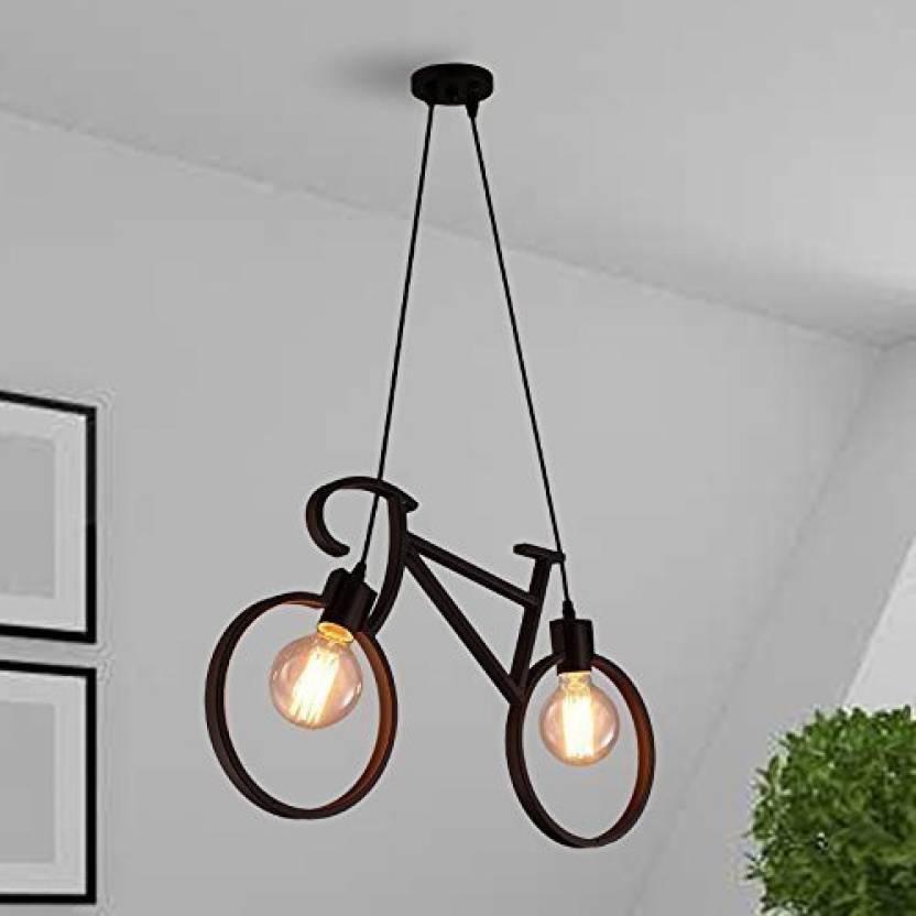 Design E27 Holder Vintage Pendants Cycle Lamp Bulb Arghyam Hanging Ceiling Edison With Y76yvbfg