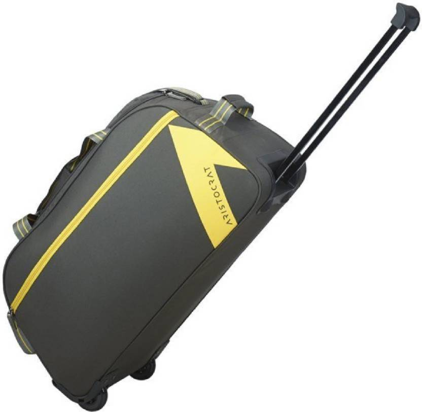 ca5bd40846 ARISTOCRATE DAWN DFT 52 SMALL SIZE GREY Duffel Strolley Bag GREY ...