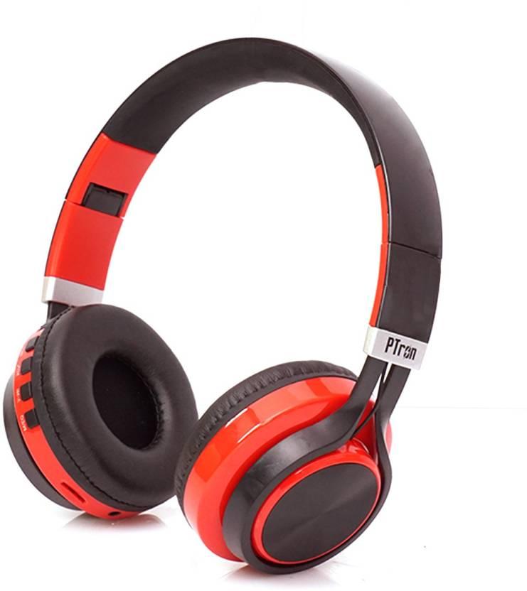 5f40199e3fd PTron Kicks Wireless Bluetooth Headset with Mic Price in India - Buy ...