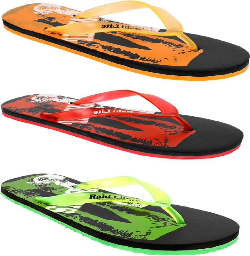 f3f4bfcb1 Vocabulary Multicolor Flip Flops - Buy Multicolor Color Vocabulary Multicolor  Flip Flops Online at Best Price - Shop Online for Footwears in India ...