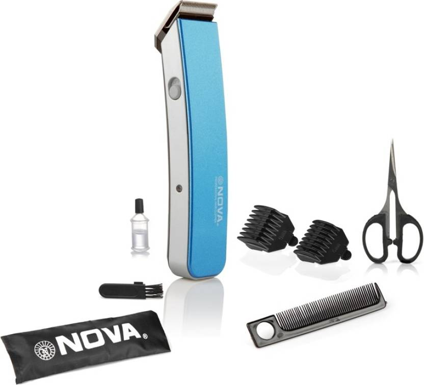 Nova NHT 1047 B Runtime: 45 min Trimmer for Men Blue