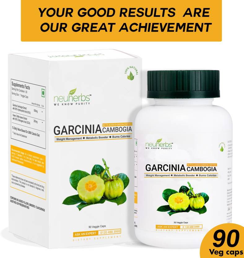 Neuherbs Garcinia Cambogia Extract For Weight Management 90 Capsules
