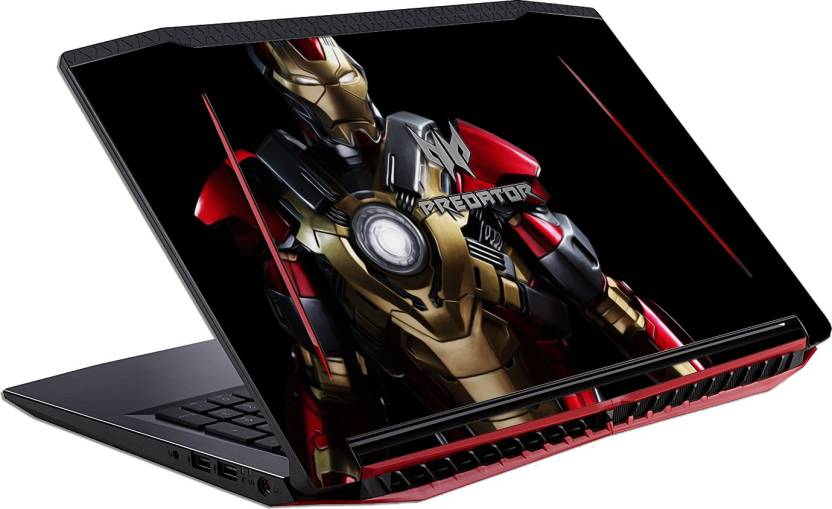 GadGets Wrap PRINTED iron man costume marvel SKIN FOR