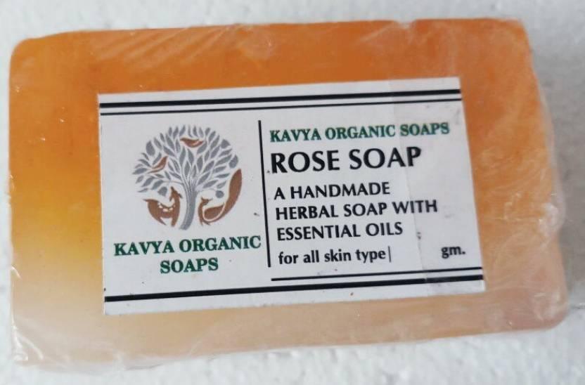 Kavya Organic Soap Rose Soap - Price in India, Buy Kavya