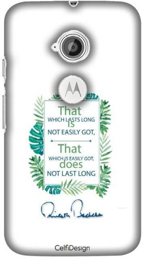 CelfiDesign Back Cover for Premium Case - Lasts Long AB Quotes for