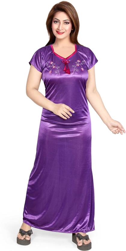 95c60d6b9db Mahaarani Women Nighty - Buy Mahaarani Women Nighty Online at Best ...
