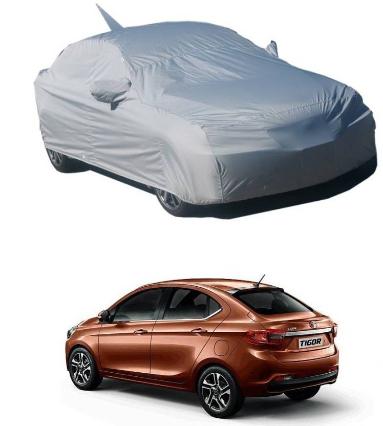 Rideofrenzy Car Cover For Tata Tigor With Mirror Pockets Price In