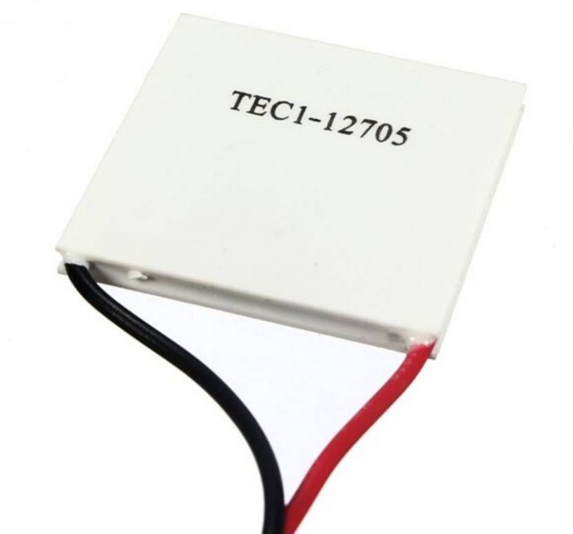 Robodo TEC1-12705 Heatsink Thermoelectric Cooler Cooling Peltier Plate  Module Electronic Components Electronic Hobby Kit