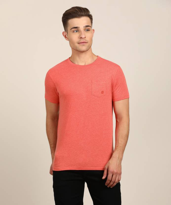 finest selection 6f4ce 972d8 Pepe Jeans Solid Men's Round Neck Red T-Shirt