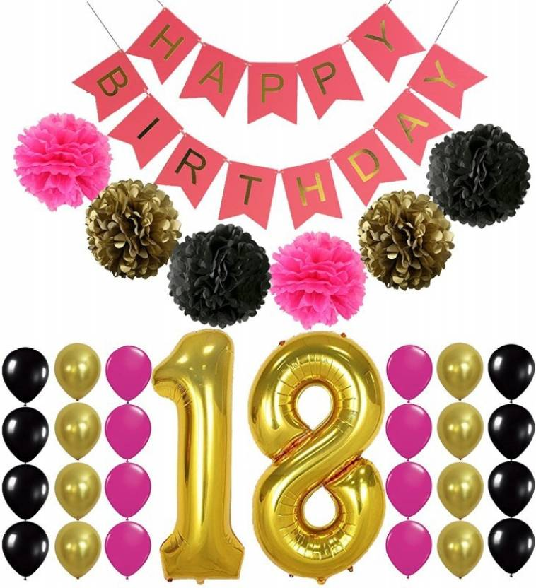 Theme My Party 18th Birthday Decoration Supplies