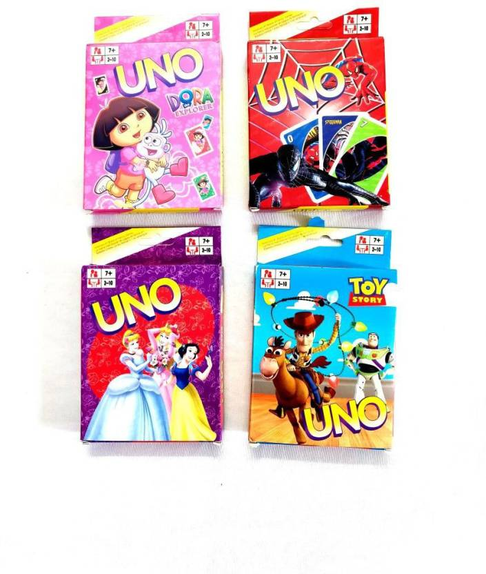 Shopkooky UNO CArds Best Return Gift For Kids Birthday Pack Of 6