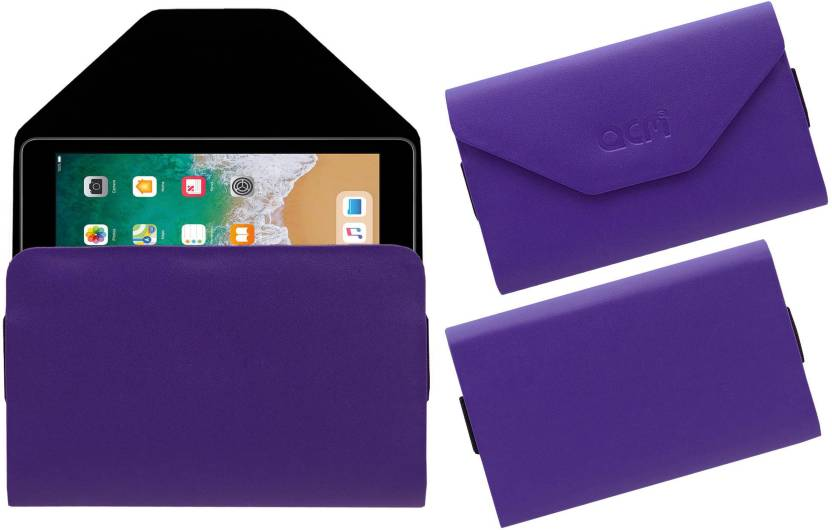 ACM Pouch for Apple Ipad 9.7 2017 A1823 Purple, Cases with Holder