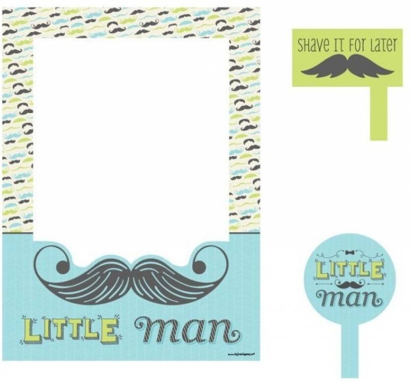 Theme My Party Photo Frame/Props For Your Baby Shower Photo