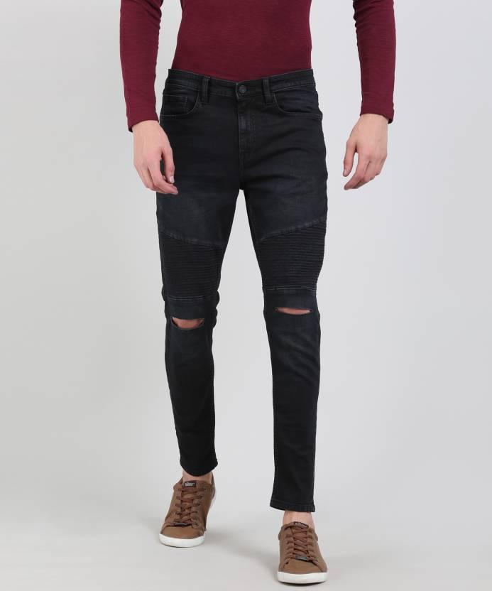 e3f605d1e59 Skult By Shahid Kapoor ANATOL Skinny Men s Black Jeans - Buy Black Skult By  Shahid Kapoor ANATOL Skinny Men s Black Jeans Online at Best Prices in India  ...