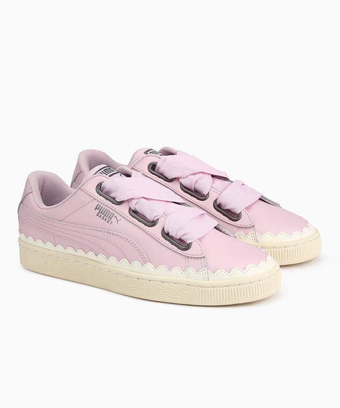 Puma Basket Heart Scallop Wn s Sneakers For Women 5749684fc