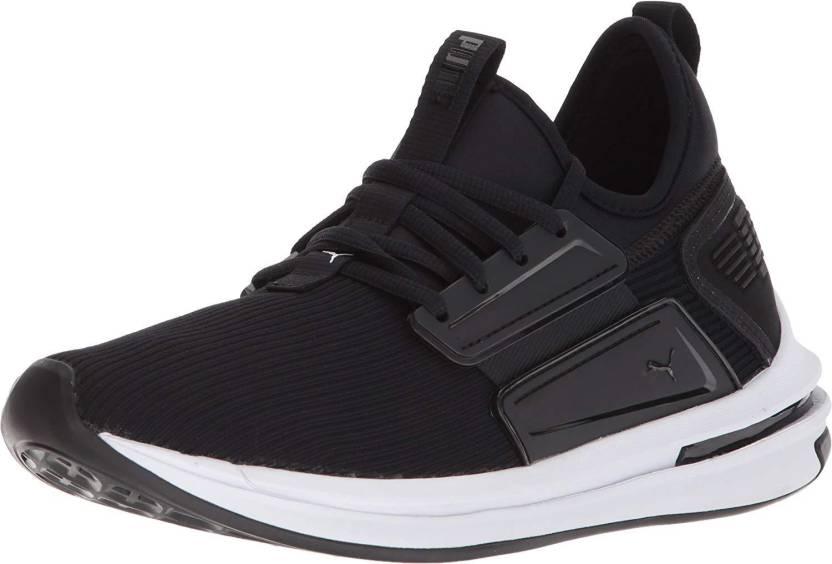 44cebb3d1498 Puma ignite Limitless SR Black Running Shoes For Men - Buy Puma ...