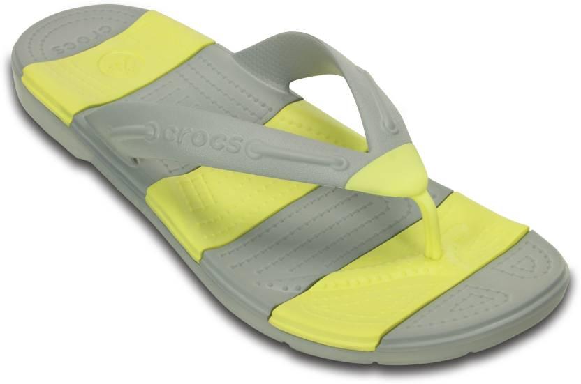 c4c78445fc3c5 Crocs Beach Line Flip Flip Flops - Buy Crocs Beach Line Flip Flip Flops  Online at Best Price - Shop Online for Footwears in India