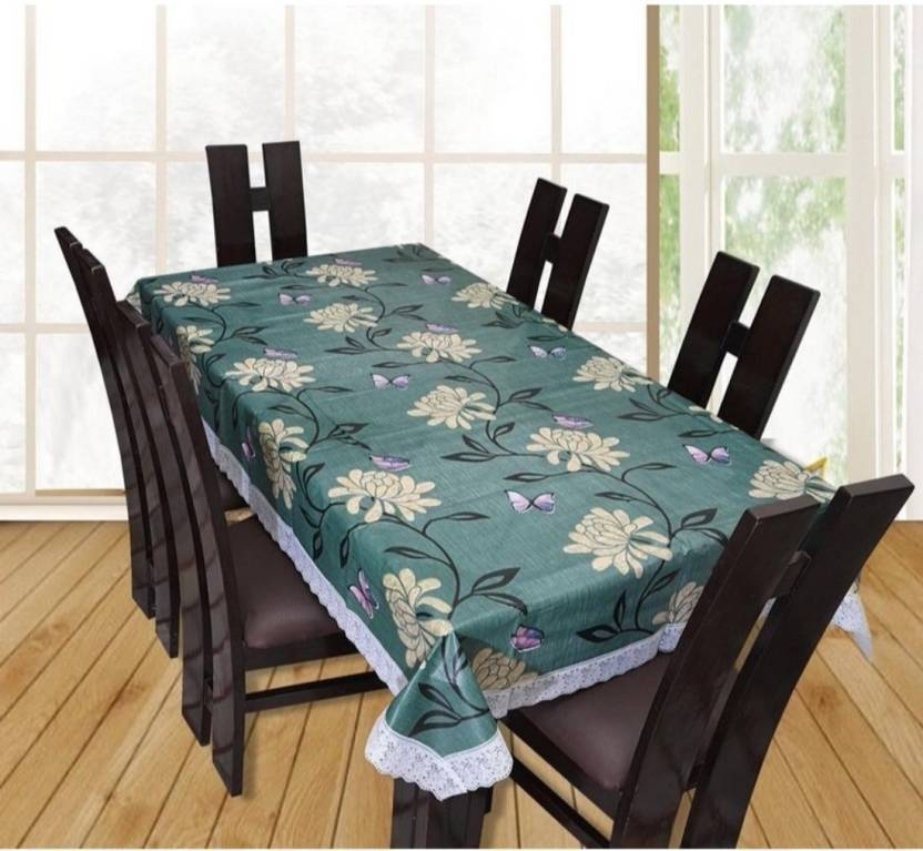 2312433ed00 CASA FURNISHING Floral 6 Seater Table Cover - Buy CASA FURNISHING ...