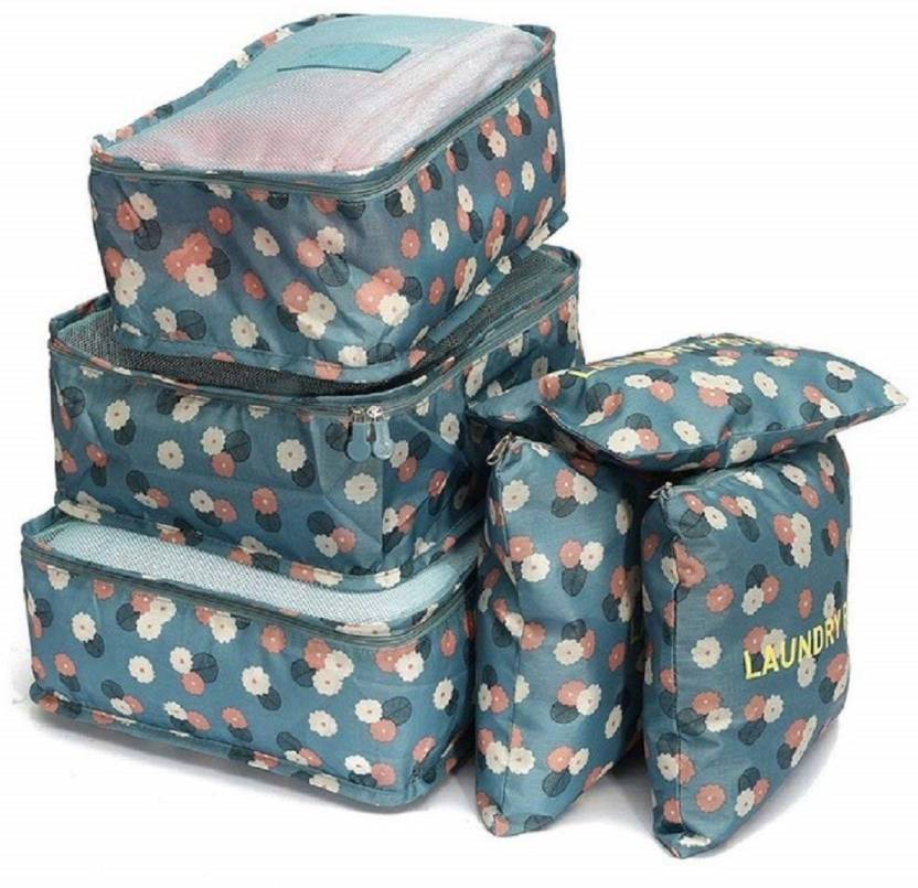 b1187077690a Styleys Packing Cubes, 6pcs Travel Storage Bag Organizer Luggage ...