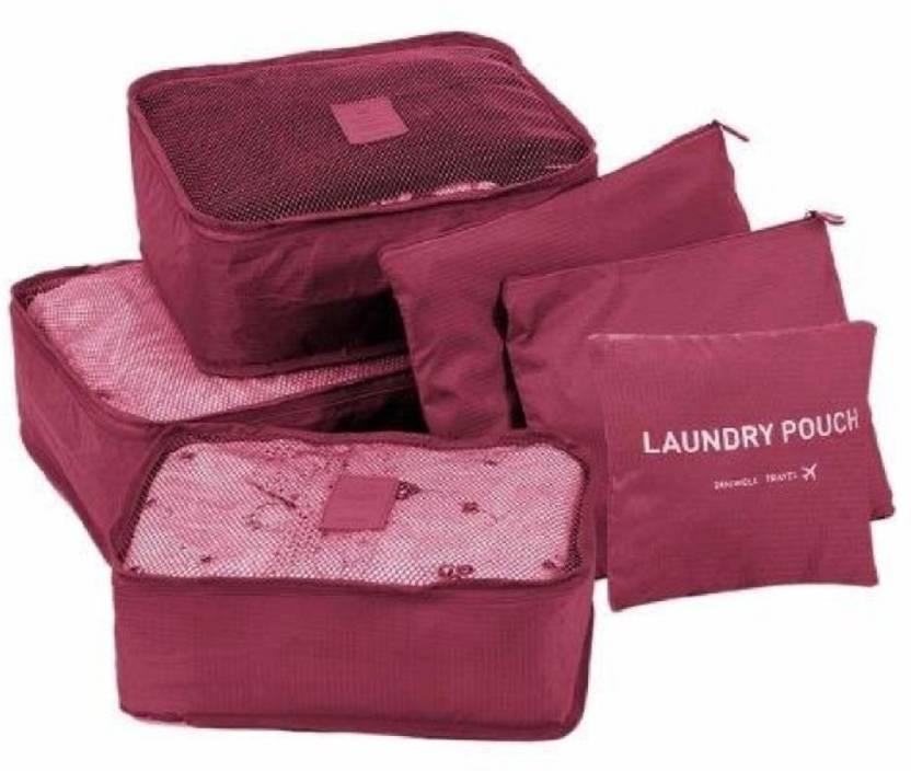 2294404dc34e Lemish 6 in 1 secret pouch bag organizer / suitcase bag (SECRET ...