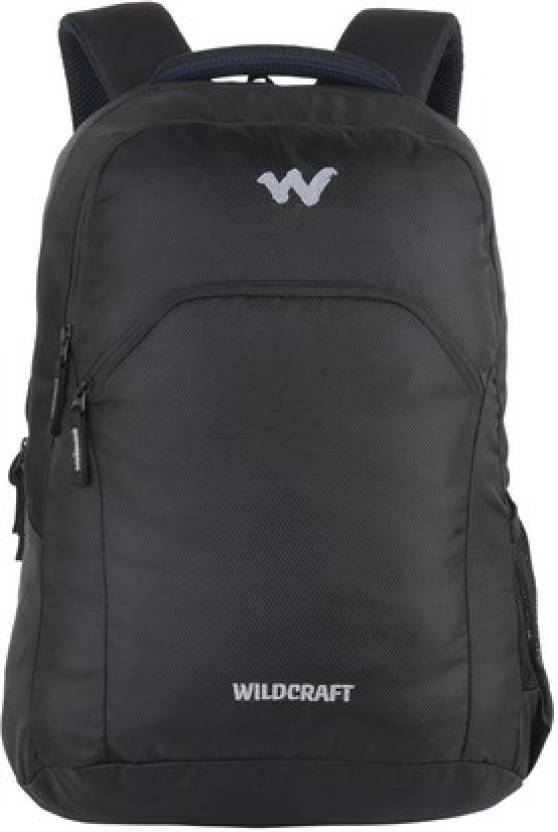 201b71441 Wiki by Wildcraft Ace 2 Black Backpack 26 L Backpack