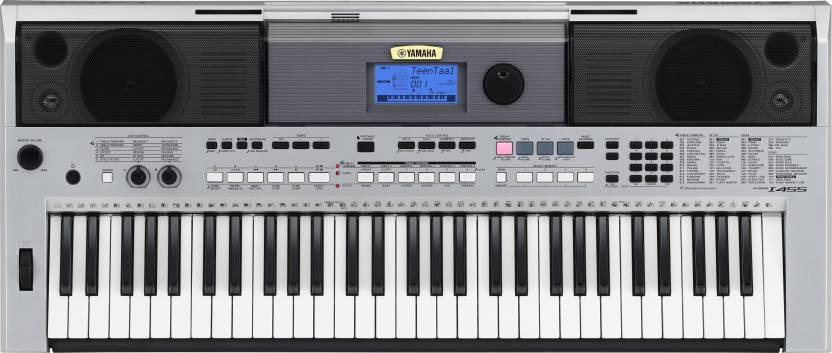 Yamaha PSR I-455 YAMAHA PSR I-455 Digital Portable Keyboard  (61 Keys)