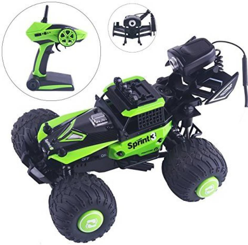 Crazepony Rc Car With Fpv Camera, Remote Control Rtr Waterproof Off
