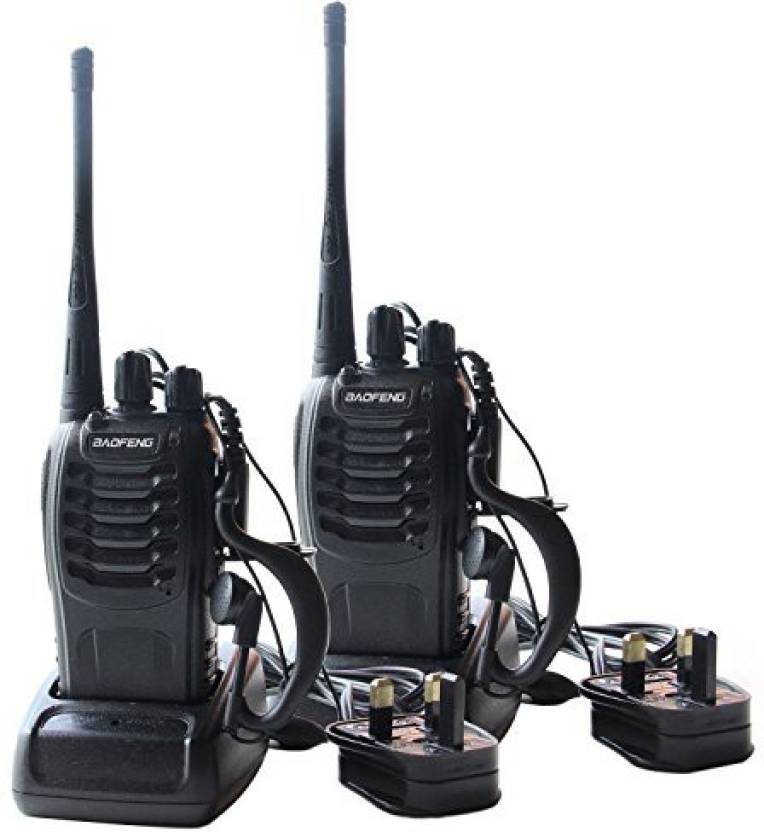 9059aaa591e Generic Imurz Tl036 2Pcs Rechargeable Walkie Talkies Two Way Radio Uhf 400- 470Mhz 16Ch With Earpieces Walkie-Talkie Transceiver (Multicolor)