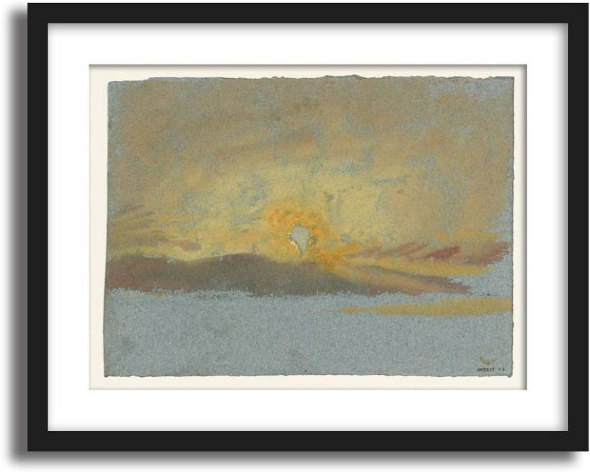 Artcentral Setting Sun 1827 Painting By Jmw Turner Without Glass