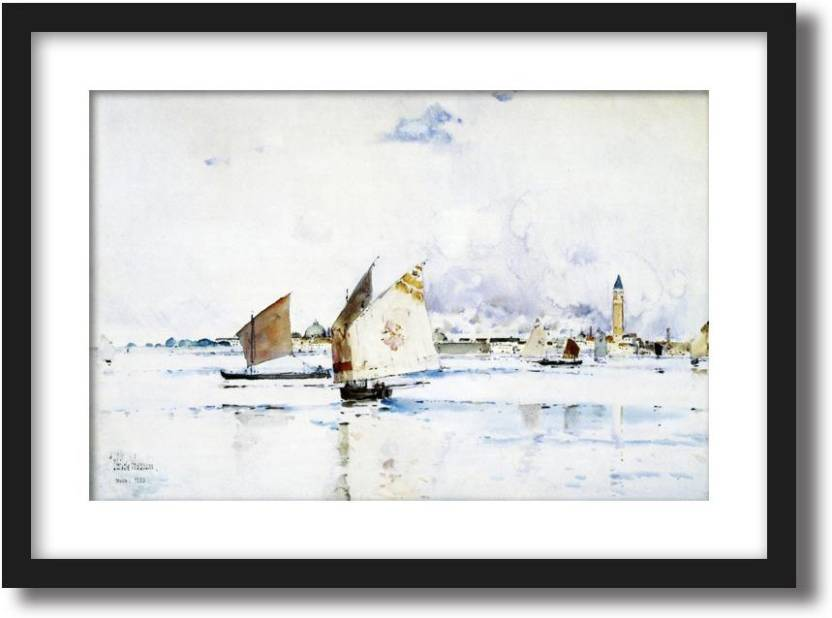 Artcentral Venice 1883 Painting By Frederick Childe Hassam Without