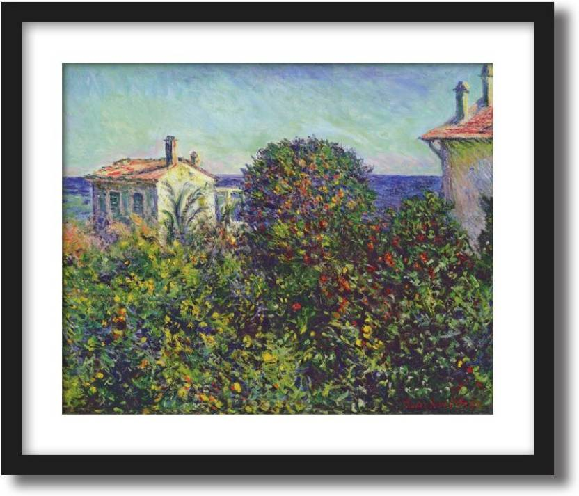 Artcentral Bordighera The House Of Gardener 1884 Painting By