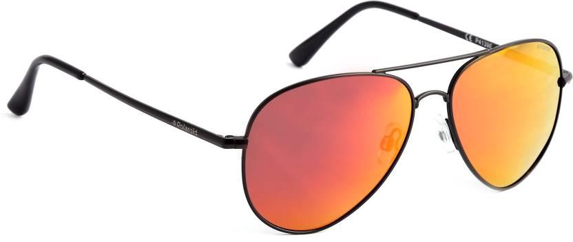 30ef6ade956 Buy Polaroid Aviator Sunglasses Red
