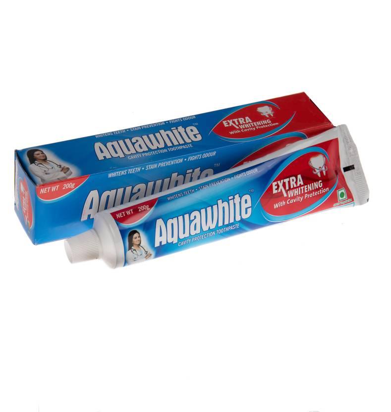 Aquawhite Cavity Protection Toothpaste White Toothpaste 200gm