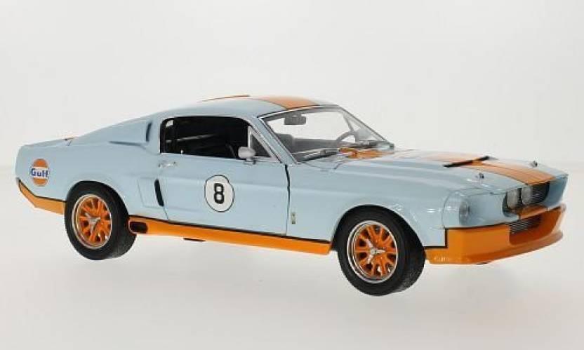 Generic Greenlight 1967 Shelby GT500 Gulf Oil, Light Blue