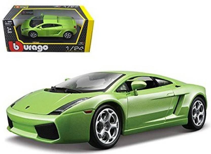 Bburago Lamborghini Gallardo Green 1 24 Diecast Car Model By