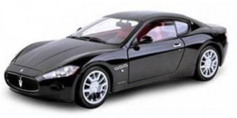 motormax maserati gran turismo, black - 79151 1/18 scale diecast