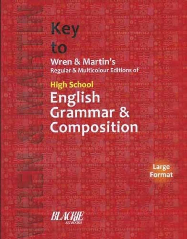 Key to wren martin regular multicolour editions of high school key to wren martin regular multicolour editions of high school english grammar composition ccuart Images