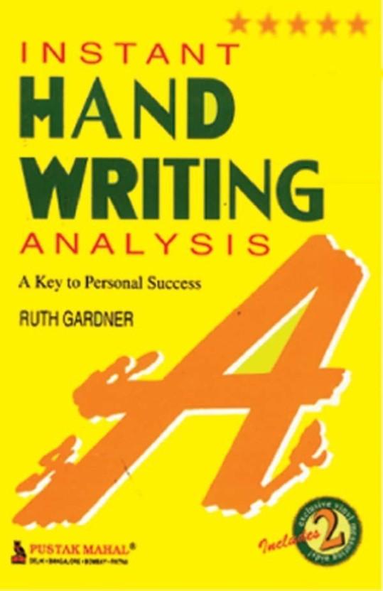 Handwriting Analysis Book