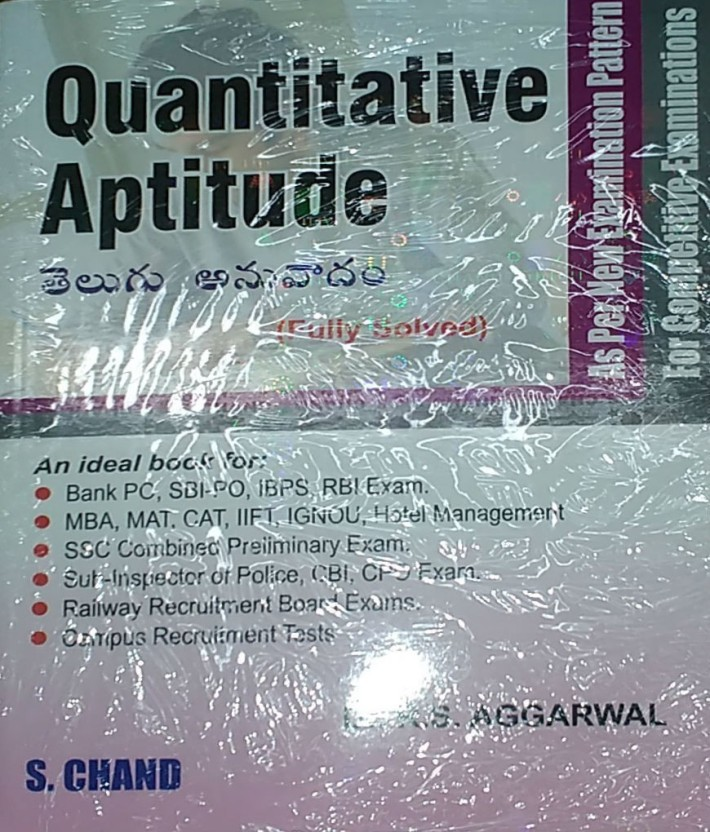 Pdf telugu aptitude books