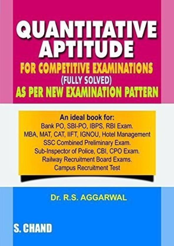 Quantitative aptitude for competitive examinations buy quantitative quantitative aptitude for competitive examinations fandeluxe Images