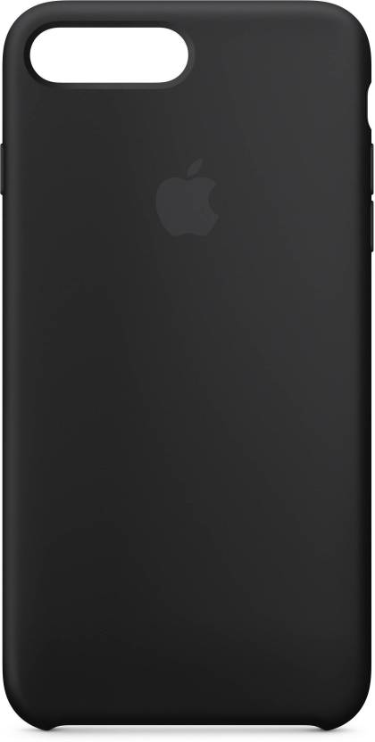 lowest price e088d 861c0 Midkart Back Cover for iPhone 7 Plus /8 Plus Matte Black Silicone ...