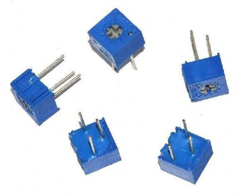 Edust 1k Ohm Potentiometer Variable Resistor Preset 5 Piece In A